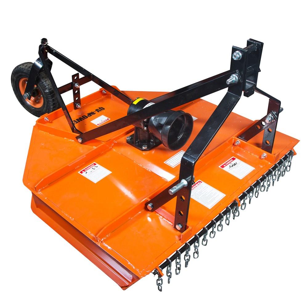 medium resolution of details about power king pk1616 12 ga deck heat treated blade shielded pto rough cut mower