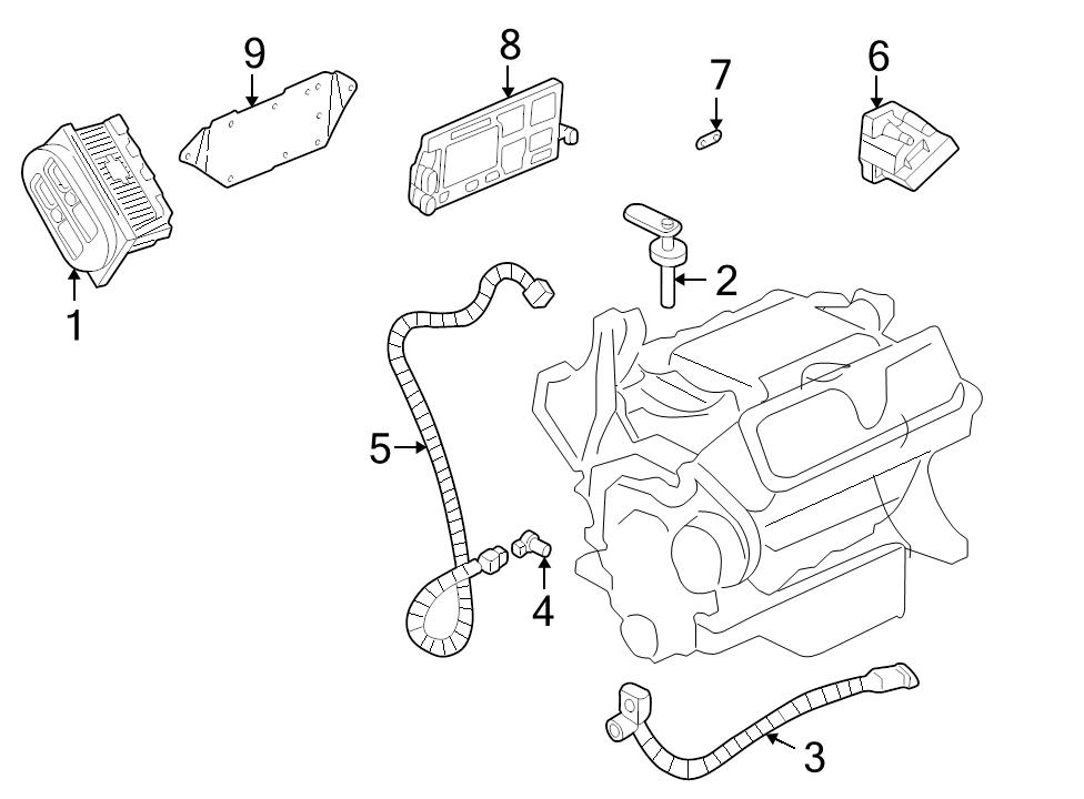 BRAND NEW GENUINE GM OEM ENGINE WIRING HARNESS #15301408