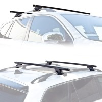 Wagon SUV Universal Roof Rack Cross Bar Rail Pair Car