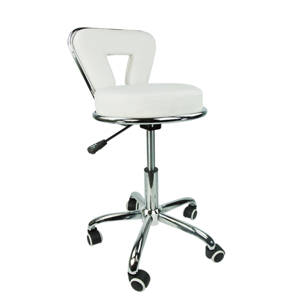 White Rolling Chair What Is The Best Stool Rolling