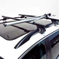 New 2 HD Universal Bike Bicycle Carrier Rack Roof Mount
