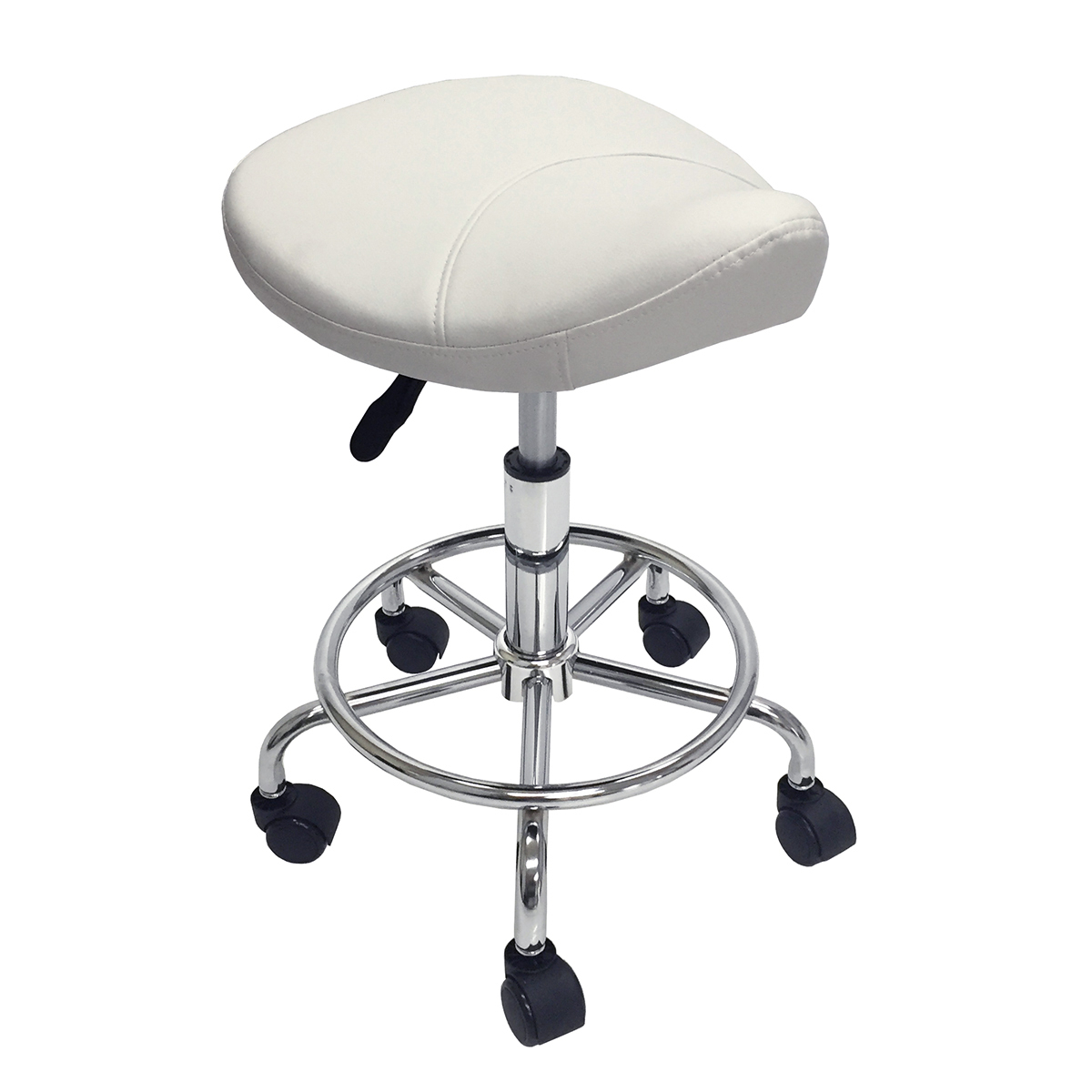 chair stool with footrest target high booster seat 2 saddle salon doctor dentist spa office