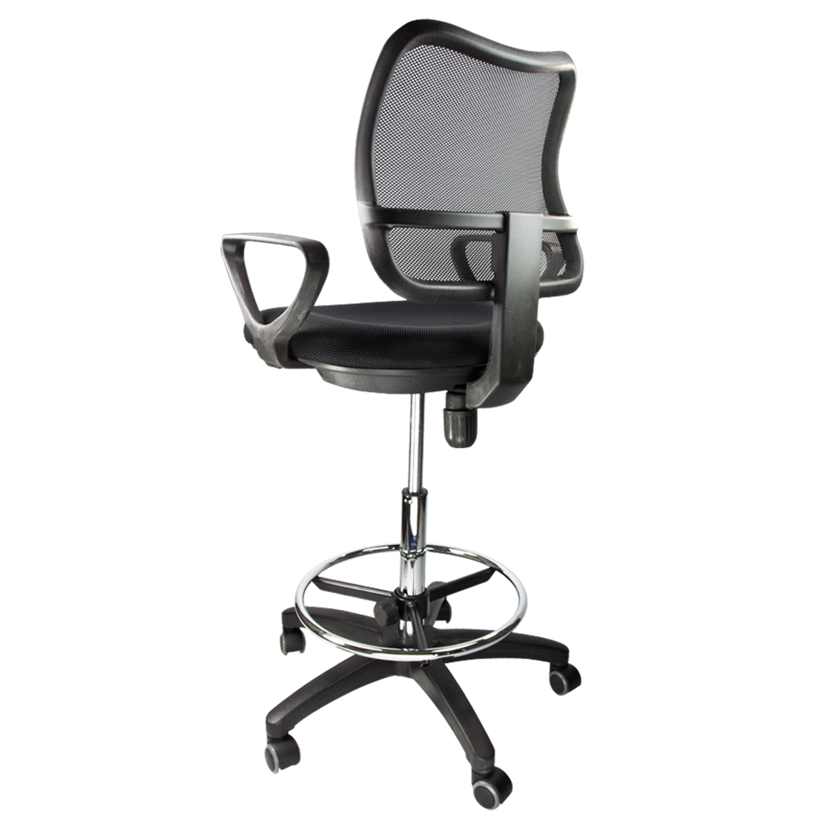 Ergonomic Reading Chair Drafting Chair Mesh Stool Armrest Ergonomic Adjustable