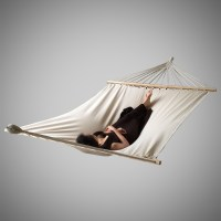 330lb Outdoor Swing Chair Hanging Camping Cotton Double ...