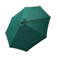 Top Patio Umbrella Cover 9 FT 8 Ribs Canopy Green ...