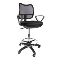 2 Drafting Chair Stool Armrest Ergonomic Mesh Adjustable ...