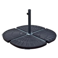 Patio Umbrella Stand Vintage Finish Outdoor Table Pole 30 ...