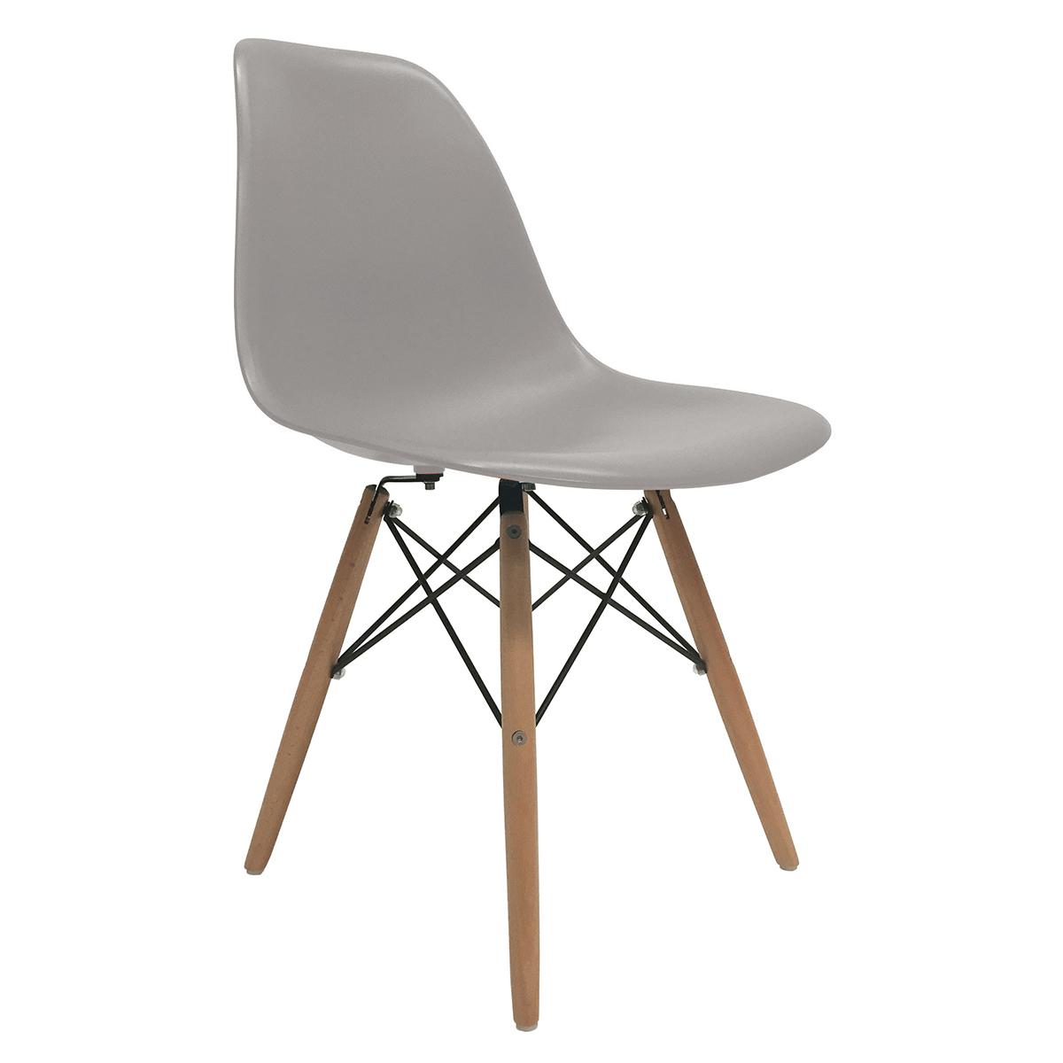 eames molded wood side chair baby high ikea set of 2 dsw dining eiffel dowel leg
