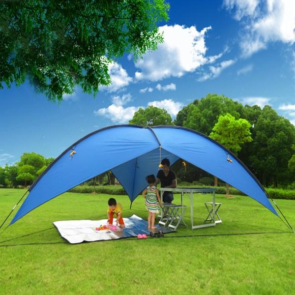 16'x16'x16' Blue Portable Sun Shade Shelter Cabana Beach Tent Outdoor Uv Pop