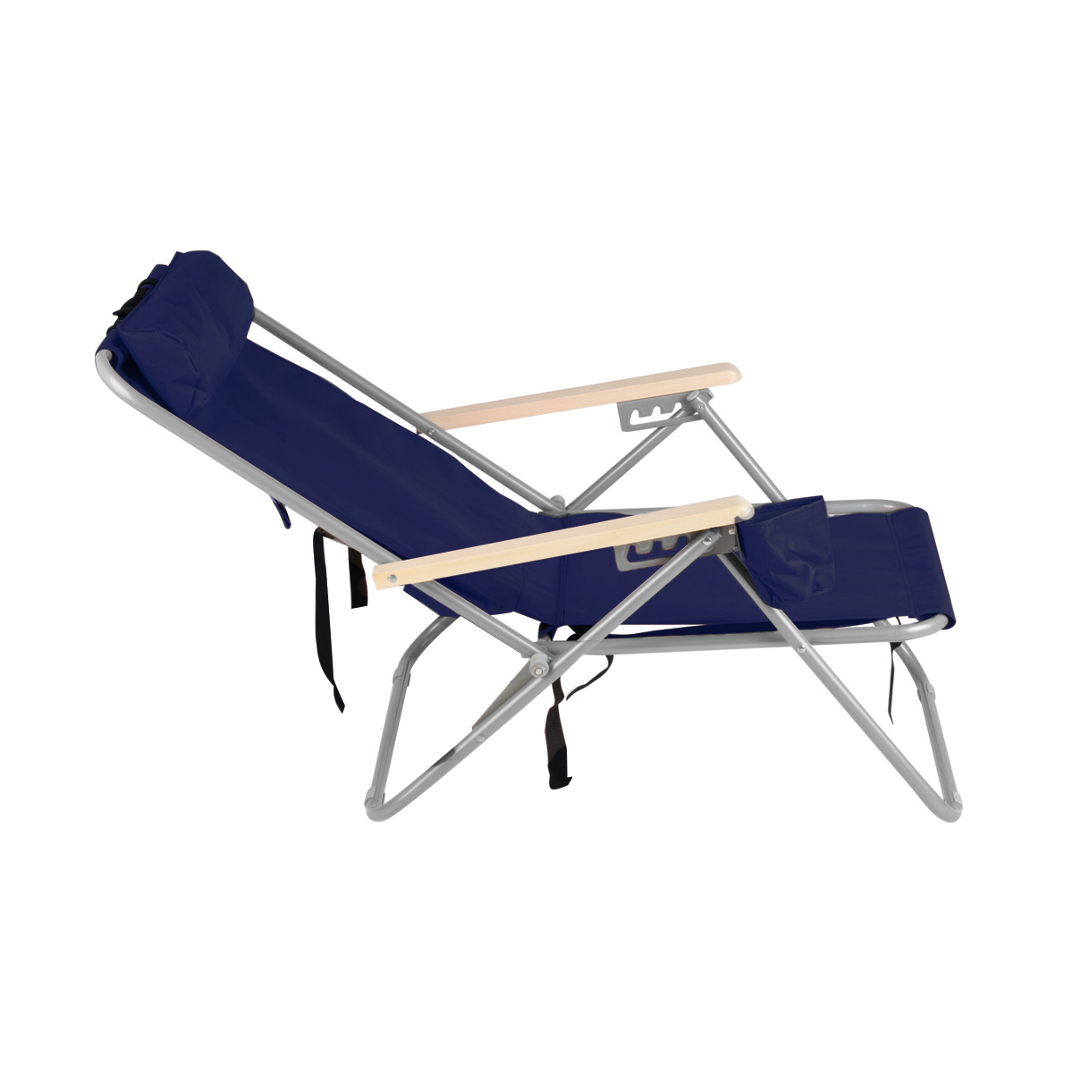 Portable Beach Chair Blue Backpack Beach Chair Folding Portable Chair Solid