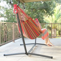 Steel Hammock Chair Stand Minnie Mouse Foam Patio Swing Double Bed Includes