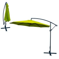 Patio Umbrella Offset 10' Hanging Umbrella Outdoor Market ...