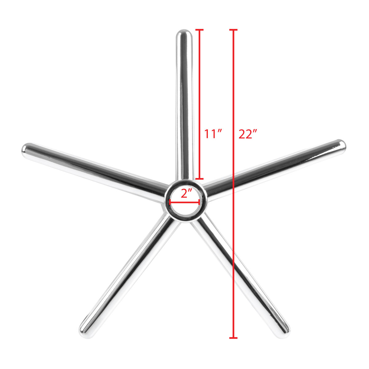 office chair replacement base the best gaming 2018 star furniture 5 white