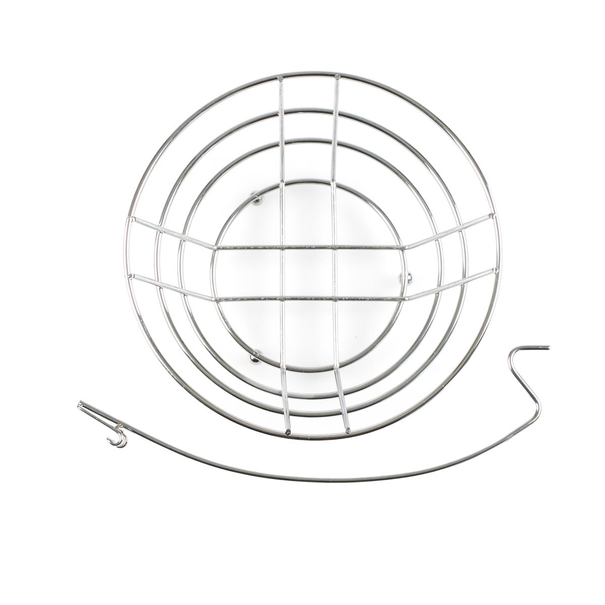 2 Kitchen Fruit Basket Produce Table Bowl Metal Chrome