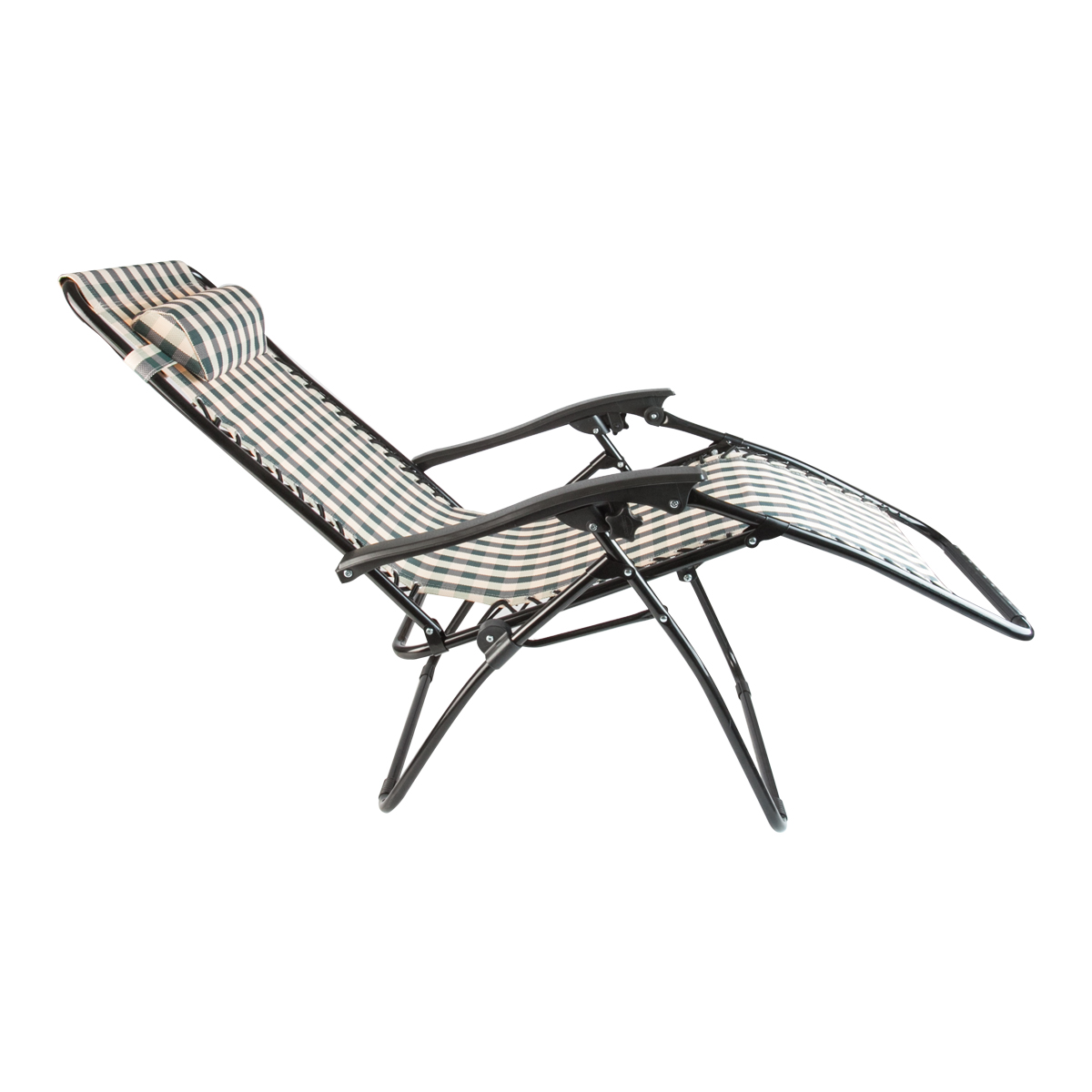 Folding Lounge Chairs 2 Stripe Zero Gravity Folding Lounge Chairs Recliner
