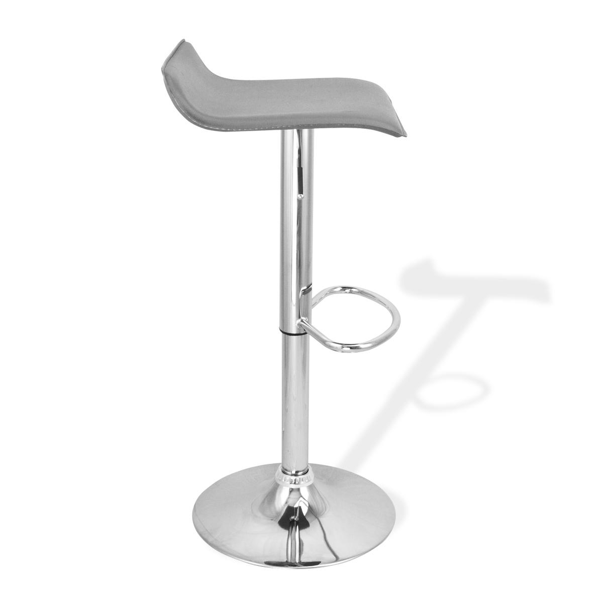 bar stool chair grey milo baughman chairs 4 new modern swivel bombo pub