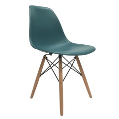 Turquoise Side Chair Modern Dining Chairs Johannesburg 4 New Eames Style Dsw Wood Leg