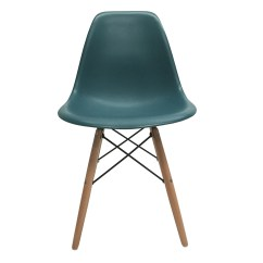 Turquoise Side Chair Party Rentals Chairs 4 New Eames Style Dsw Wood Leg Dining