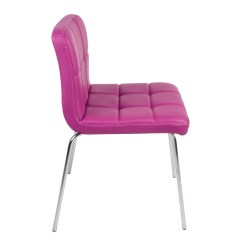 Pink Dining Room Chairs Scorpion Gaming Chair Modern Furniture Style 2pc Set Kitchen