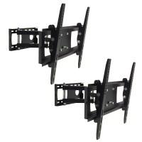 "2 Vizio LCD LED TV Swivel Wall Mount Bracket Fit 30""37""40 ..."
