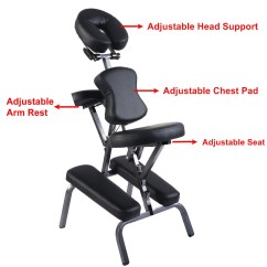 Best Portable Massage Chair Cream Round Table And Chairs Folding Tattoo Spa With Carrying