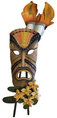 Tropical Frown Tiki Mask Wall Decor