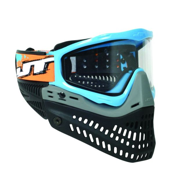 Jt Spectra Proflex Le Thermal Paintball Mask - Sky Blue