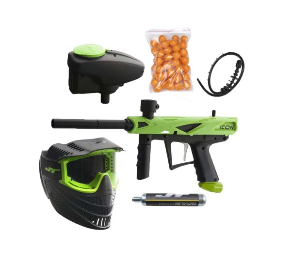 Jt -icon Paintball Gun Rtp Ready Play Package Kit