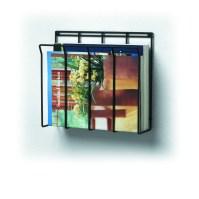 Wall Mount Wire Magazine Rack & Newspaper Caddy Spectrum ...