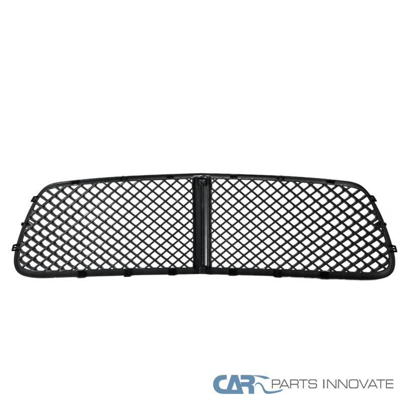 2011-2014 Dodge Charger Mesh Honeycomb Black Upper Front