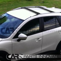 2013-2015 Mazda CX-5 CX5 Black Roof Top Cross Bars ...