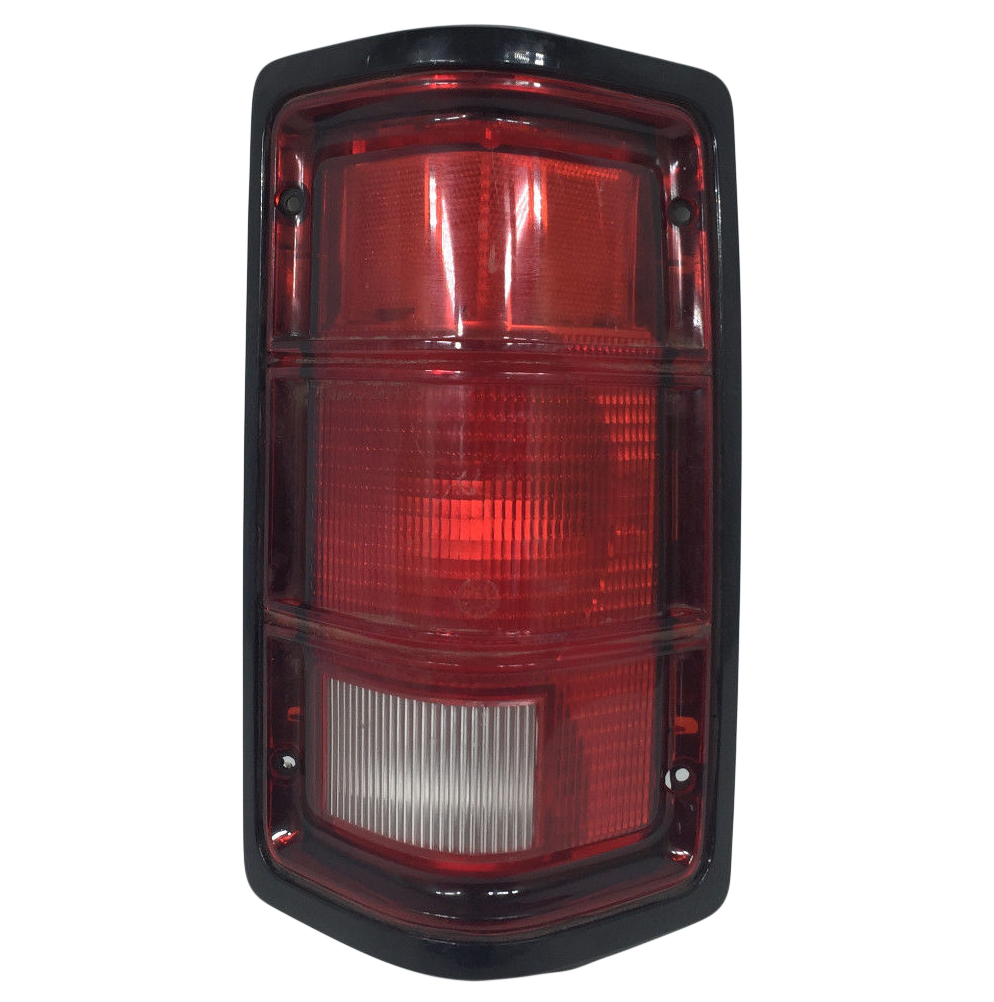 hight resolution of details about new right tail light fits dodge dakota 1988 1996 black trim ch2801111 55076438