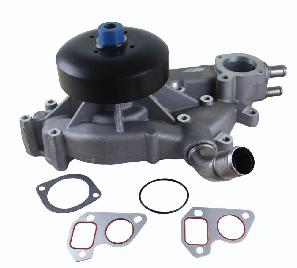 medium resolution of new water pump fits chevrolet silverado 1500 hd ls lt crew cab 6 0l 19256261