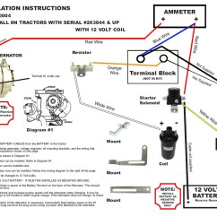 Ford 8n Tractor Wiring Diagram 1998 Jeep Wrangler Radio New Generator Alternator Fits Conversion Kit Late Model