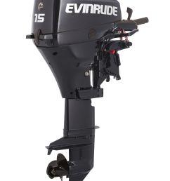 details about new evinrude 15hp 4 stroke outboard motor tiller 15 shaft engine [ 1441 x 1920 Pixel ]