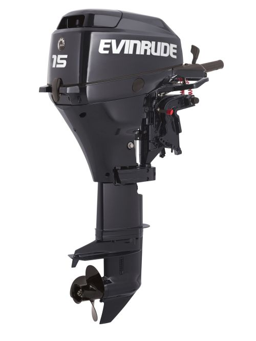 small resolution of details about new evinrude 15hp 4 stroke outboard motor tiller 15 shaft engine