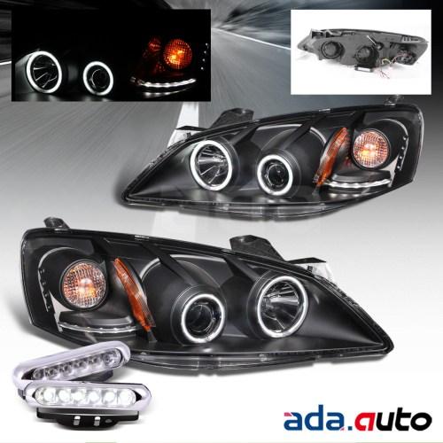 small resolution of 2005 2010 pontiac g6 ccfl halo projector headlights led fog lamps set