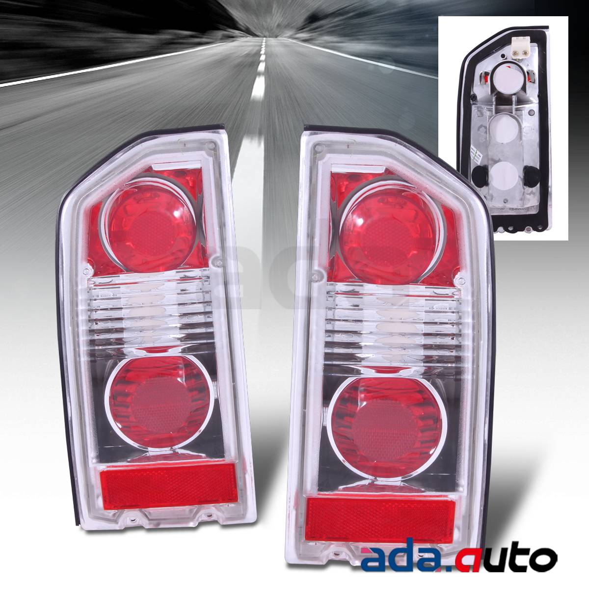 hight resolution of 1988 1998 suzuki vitara sidekick geo tracker 2 4dr altezza red tail lights set