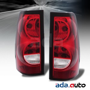 20042007 Chevy Silverado 1500 2500 3500 Red Tail Lights