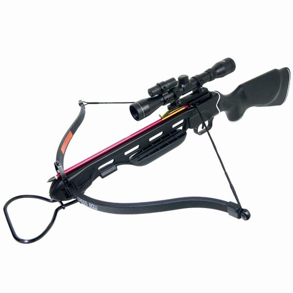 Lb Black Wood Camo Hunting Crossbow Bow 4x20