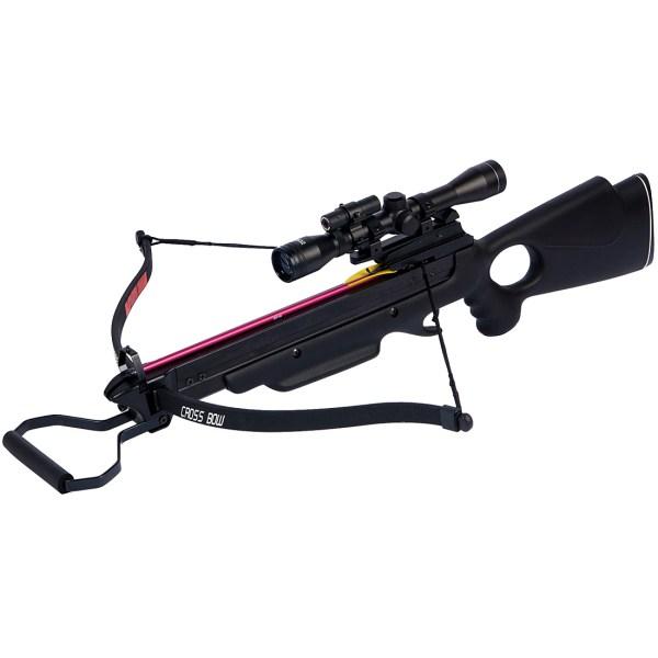 Lb Black Wood Camo Hunting Crossbow Bow 12 Arrows