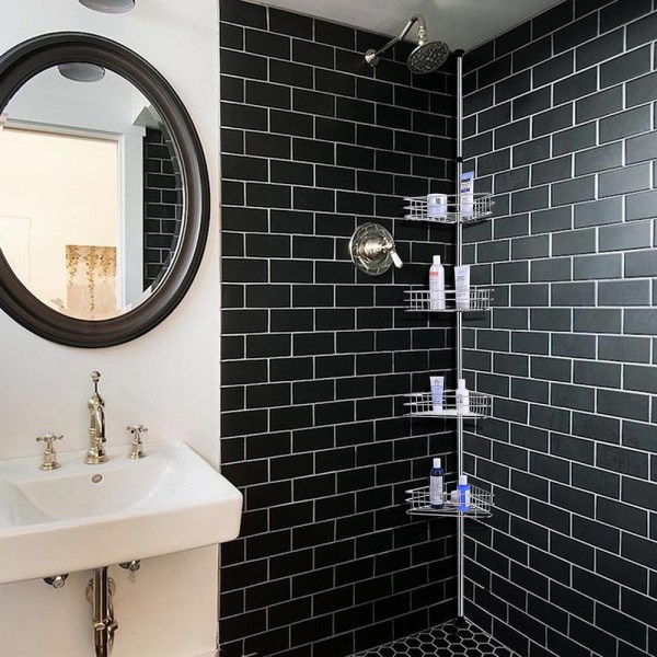 Metal Shower Corner Shelf Bathroom