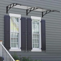 80''x40'' Door Window Outdoor Awning Polycarbonate Patio ...