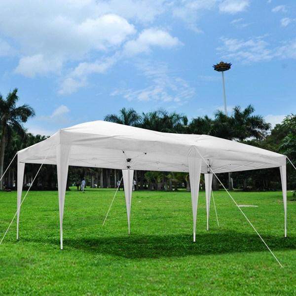 10' X 20' Outdoor Ez Pop Canopy Party Wedding Tent Pavilion Cater Event