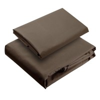 2 Tier 12x12 Ft. Canopy Top Replacement Chocolate for