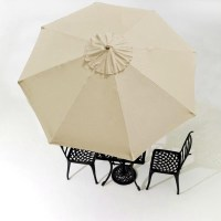 10FT REPLACEMENT Canopy TOP Cover for 8 Ribs Patio ...