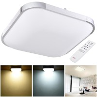 24W 36W 48W Modern Flush Mount LED Ceiling Light Pendant ...