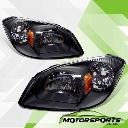 small resolution of details about 2005 2010 chevy cobalt 07 09 pontiac g5 05 06 pursuit euro black headlights pair