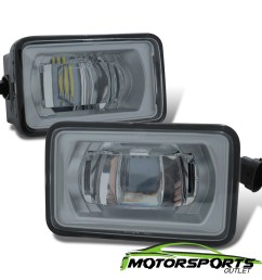 details about glass lens 2017 2018 ford f 250 f 350 high power led fog lights lamps pair [ 1200 x 1200 Pixel ]