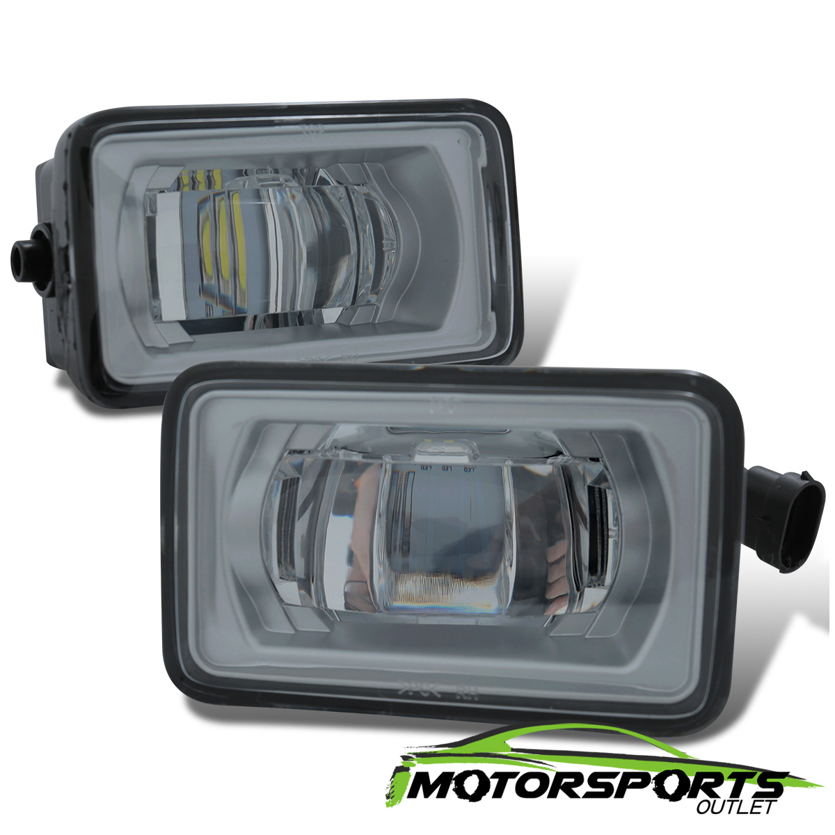 hight resolution of details about glass lens 2017 2018 ford f 250 f 350 high power led fog lights lamps pair